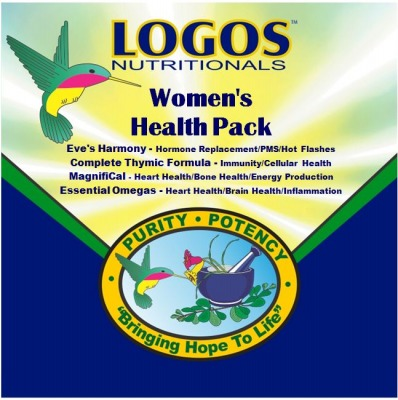 Supplements / Women / Hormone Replacement / PMS / Hot Flashes | Logos Nutritionals