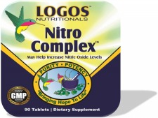 Arginine / HGH / Nitric Oxide / Increase Muscle Mass /  Stamina /  Libido | Nitro Complex from Logos Nutritionals
