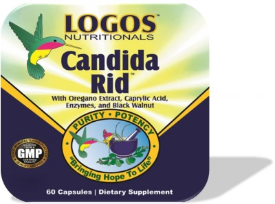 Yeast Infections / Candida Overgrowth / Antifungal Support | Candida Rid by Logos Nutritionals