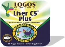 Detox the Body / Cleanse the Liver / Liver Detox /  Liver CS Plus from Logos Nutritionals