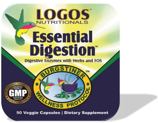 Digestive Enzymes / Digestive Health / Acid Reflux / Heartburn Relief | Essential Digestion from Logos Nutritionals