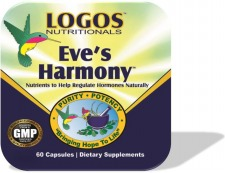 Hormone Replacement / Menopause / PMS / Hot Flashes / Night Sweats | Eves Harmony from Logos Nutritionals