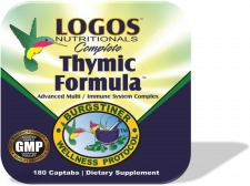 Immune System / Thymus Gland Support / Strengthen Immune Function | Dr. Burgstiner's Complete Thymic Formula from Logos Nutritionals