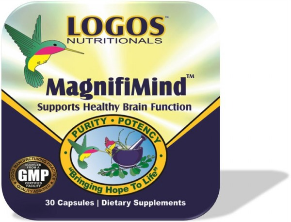 Enhance Memory / Improve Concentration / Mental Alertness | MagnifiMind by Logos Nutritionals
