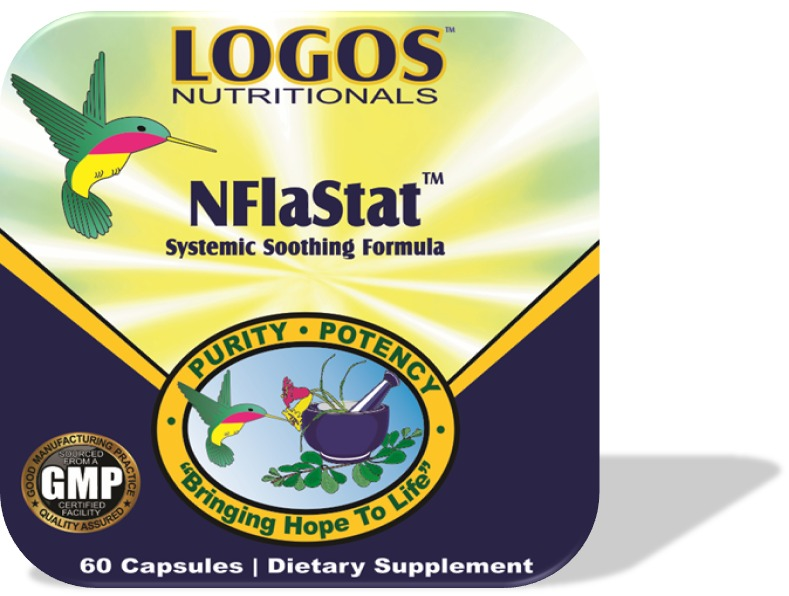 Stop Chronic Pain / Relieve Swelling / Inflammation | NFlaStat by Logos Nutritionals