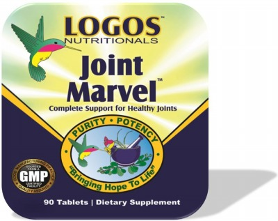 Pain Relief for Joint Pain / Glucosamine / Chondroitin / MSM  | Joint Marvel from Logos Nutrtionals
