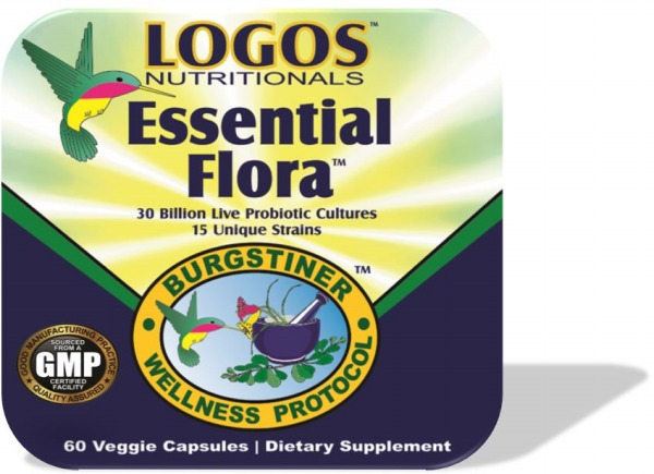 Probiotic Supplements / Immune System / Digestive Health | Essential Flora from Logos Nutritionals