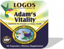 Prostate Support / Prostate Health / Enlarged Prostate / Prostate Cancer  | Adams Vitality from Logos Nutritionals