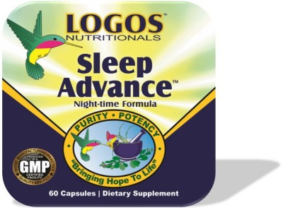 Sleep Well / Sleep Deprivation / Melatonin / L Theanine / GABA / 5HTP / Deep Sleep / Sleep Advance from Logos Nutritionals