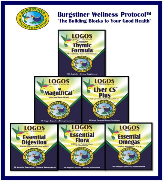 Restore Bioterrain / Build Immunity / Increase Energy / Reduce Fatigue / Build Endurance | Burgstiner Wellness Protocol from Logos Nutritionals